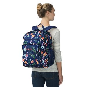 Jansport Big Student Backpack Girl Wearing