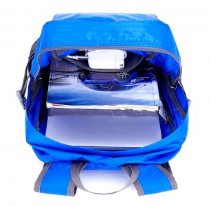 Interior of Venture Pal Backpack