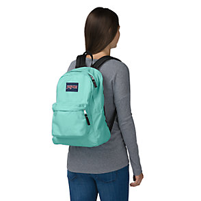 JanSport Superbreak Backpack girl carrying