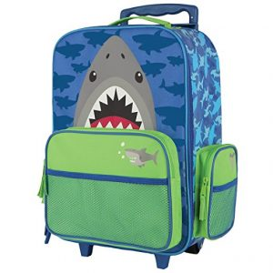 Stephen Joseph Classic Rolling Luggage, Shark