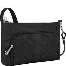 Travelon Anti-theft Signature EW Slim Shoulder Bag