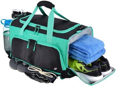 Ultimate Gym Bag The Crowd source Designed Duffel by FocusGear