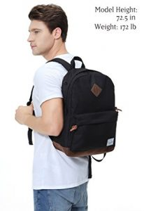 Vaschy Unisex Laptop Backpack Model Wearing