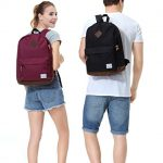 girl boy wearing vaschy backpack